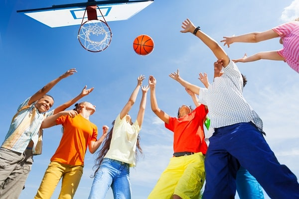 Health Benefits of Playing Basketball